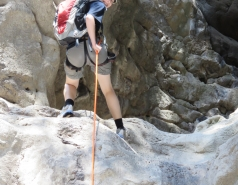 2014 - Lab Trip to Nahal Amud and Rappelling in the Black Canyon (2 days) picture no. 172