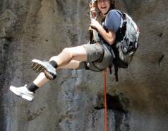 2014 - Lab Trip to Nahal Amud and Rappelling in the Black Canyon (2 days) picture no. 175