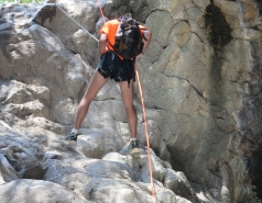 2014 - Lab Trip to Nahal Amud and Rappelling in the Black Canyon (2 days) picture no. 178