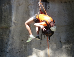 2014 - Lab Trip to Nahal Amud and Rappelling in the Black Canyon (2 days) picture no. 183