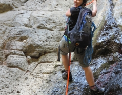 2014 - Lab Trip to Nahal Amud and Rappelling in the Black Canyon (2 days) picture no. 193
