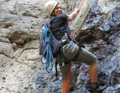 2014 - Lab Trip to Nahal Amud and Rappelling in the Black Canyon (2 days) picture no. 194