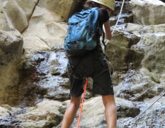 2014 - Lab Trip to Nahal Amud and Rappelling in the Black Canyon (2 days) picture no. 205