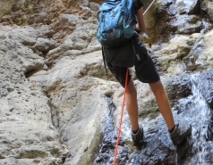 2014 - Lab Trip to Nahal Amud and Rappelling in the Black Canyon (2 days) picture no. 207