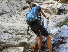 2014 - Lab Trip to Nahal Amud and Rappelling in the Black Canyon (2 days) picture no. 208