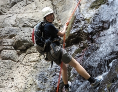 2014 - Lab Trip to Nahal Amud and Rappelling in the Black Canyon (2 days) picture no. 214