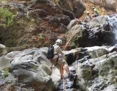 2014 - Lab Trip to Nahal Amud and Rappelling in the Black Canyon (2 days) picture no. 216