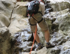 2014 - Lab Trip to Nahal Amud and Rappelling in the Black Canyon (2 days) picture no. 217