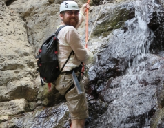 2014 - Lab Trip to Nahal Amud and Rappelling in the Black Canyon (2 days) picture no. 218