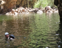 2014 - Lab Trip to Nahal Amud and Rappelling in the Black Canyon (2 days) picture no. 223