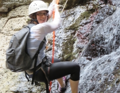 2014 - Lab Trip to Nahal Amud and Rappelling in the Black Canyon (2 days) picture no. 226