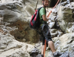 2014 - Lab Trip to Nahal Amud and Rappelling in the Black Canyon (2 days) picture no. 232