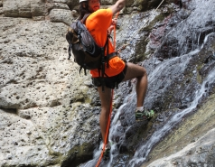 2014 - Lab Trip to Nahal Amud and Rappelling in the Black Canyon (2 days) picture no. 242