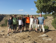 2014 - Lab Trip to Nahal Amud and Rappelling in the Black Canyon (2 days) picture no. 244