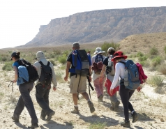 2015 - Lab Trip to Eastern Ramon Crater (2 days)