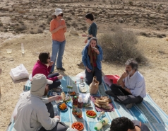 2016 - Lab Trip to Western Ramon Crater picture no. 3