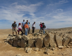 2016 - Lab Trip to Western Ramon Crater picture no. 5