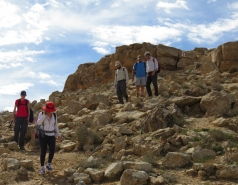 2016 - Lab Trip to Western Ramon Crater picture no. 10