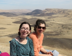 2016 - Lab Trip to Western Ramon Crater picture no. 11