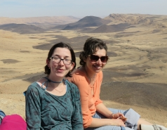 2016 - Lab Trip to Western Ramon Crater picture no. 12