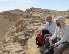 2016 - Lab Trip to Western Ramon Crater picture no. 13