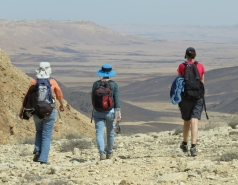 2016 - Lab Trip to Western Ramon Crater picture no. 17
