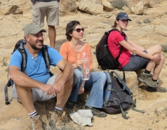 2016 - Lab Trip to Western Ramon Crater picture no. 23