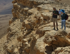 2016 - Lab Trip to Western Ramon Crater picture no. 30