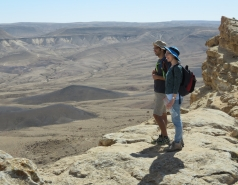 2016 - Lab Trip to Western Ramon Crater picture no. 31