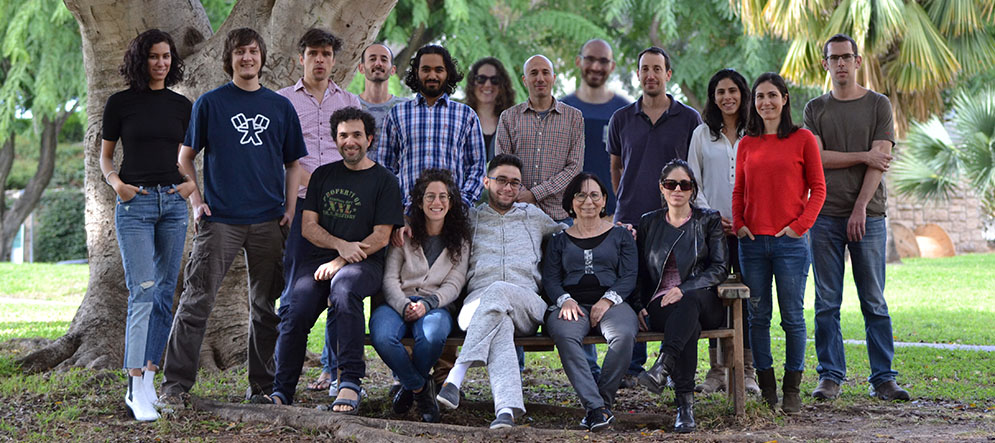 The Yizhar lab 2017 (photo: O. Yizhar)