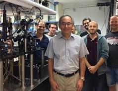 with Nobel Laureate Steve Chu