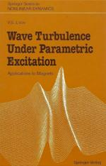 """Wave Turbulence Under Parametric Excitation"" Book Cover"