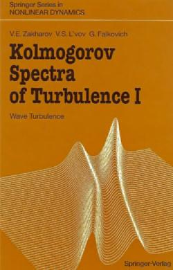 """Kolmogorov Spectra of Turbulence"" Book Cover"