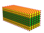 Schematic of a single core-shell semiconductor nanopletelet
