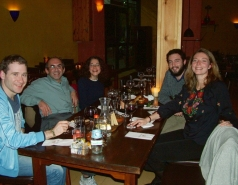 With students and postdocs