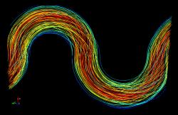 Elastic Turbulence: Lagrangian Approach