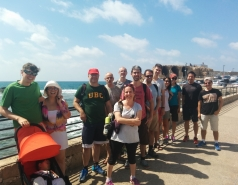 Day trip to Acre and Keshet Cave  8.7.2017