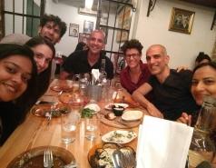 Farewell dinner Amir Kedan May 2017