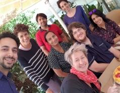 Lab members Sima Lev