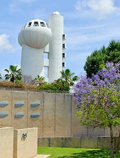 scenic picture of the Weizmann Institute