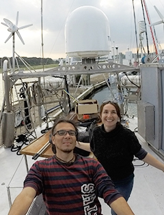 postdocs on ship