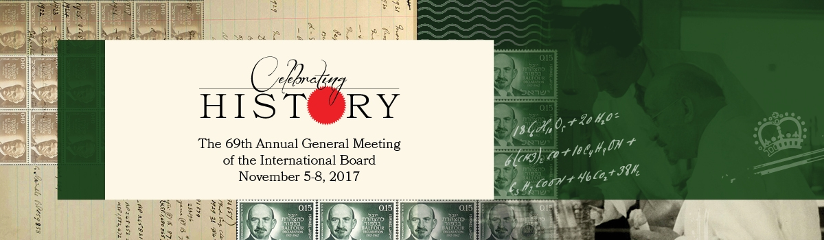 The 69th annual General meeting of the International Board - November 5-8, 2017