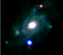 An image of SN 2013cu shortly after explosion