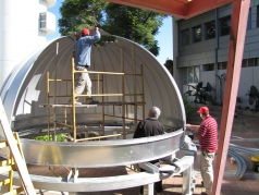 Installing the Dome