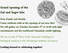 Grand opening of the Segev Lab, December 2018 picture no. 8