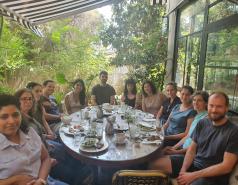 Breakfast in Tziona Cafe June 2021